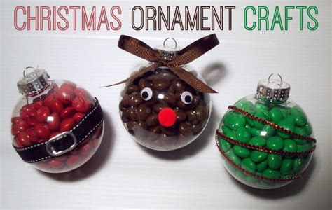 christmas ornament craft with m m s summer scraps