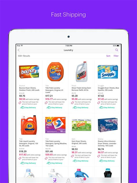 jet shopping app for discounts on grocery items