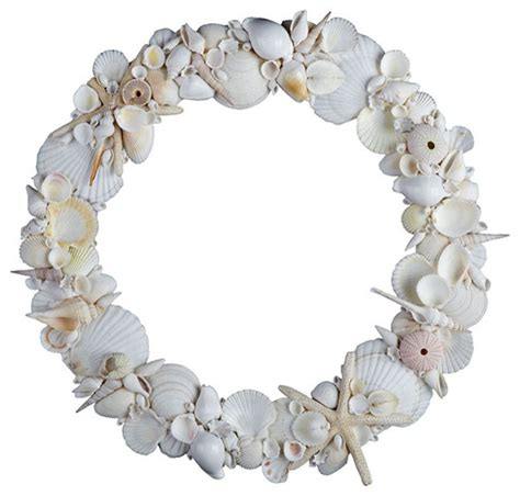 wren kitchen cabinets shell wreath traditional wreaths and garlands by 1189