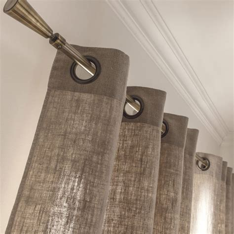rideaux en lin cortinas sala pinterest rideaux en