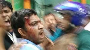 BJP office in Kolkata allegedly attacked by TMC students ...