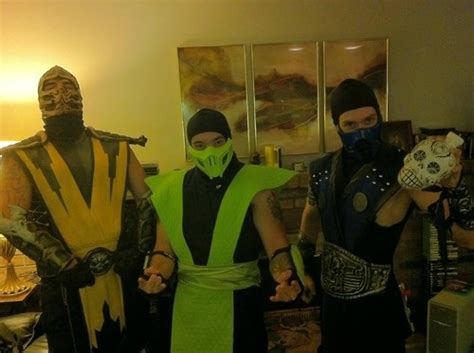 mortal kombat costumes pictures   images