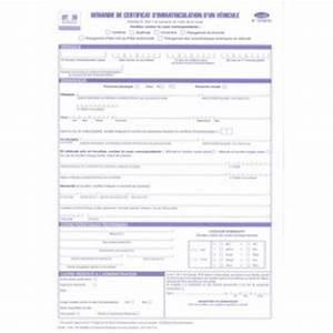 Demande D Immatriculation Véhicule : demande de certificat d 39 immatriculation d 39 un v hicule legaldoc ~ Gottalentnigeria.com Avis de Voitures