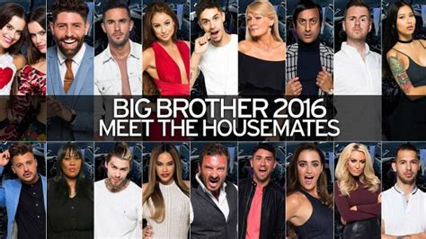 who is in big brother 2016 mirror online
