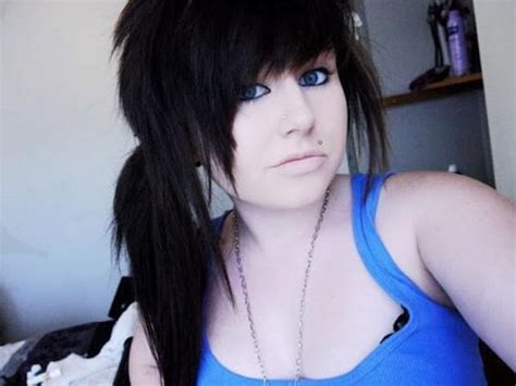 emo hairstyles  girls  bet  havent