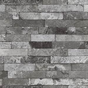 Tapeten In Grau : vliestapete factory 2 rasch tapeten 475135 steinoptik ~ Watch28wear.com Haus und Dekorationen