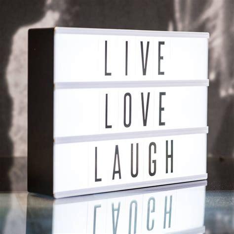 Led Light Box Room Essentials by Customisable Cinematic Lightbox Lightbox Cinema Light