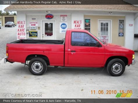 1991 Nissan Hardbody by Aztec 1991 Nissan Hardbody Truck Regular Cab Gray
