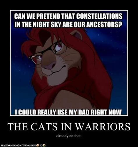 Warrior Memes - the cats in warriors ᏔᎪᎡᎡᏆᎾᎡᏚ pinterest warrior cats cat and lions