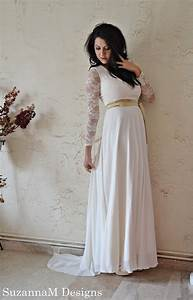70s wedding dress maxi bridal ivory lace and by With 70s wedding dress