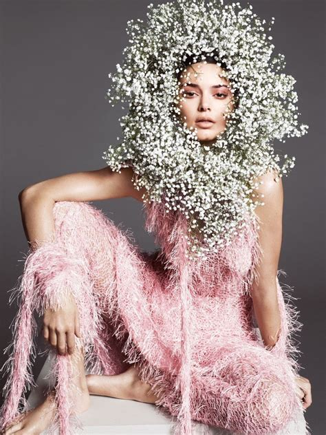 kendall jenner spring  fashion shoot vogue cover fashion  rogue