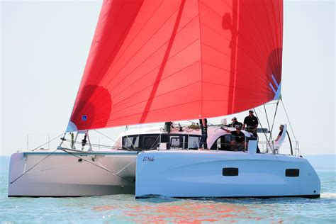 Sailing Catamaran With Daggerboards by Why Daggerboards Make Sense Over A Fixed Keel Just