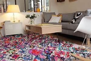 Tapis Deco Salon : d co le pr cieux tapis et le nouveau salon ritalechat ~ Teatrodelosmanantiales.com Idées de Décoration