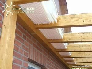 Sonnenschutz Terrassenüberdachung Innenbeschattung : fotogalerie sonnensegel terrassendach 58 x 330 cm ~ Whattoseeinmadrid.com Haus und Dekorationen