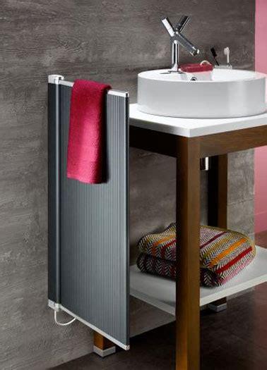 seche serviette electrique  modeles pour une salle de