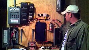 Solar Power Setup Testing  Mppt Outback Flex Max 80  500k