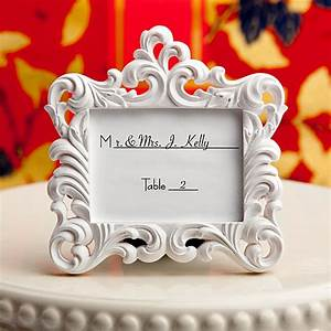 place card holder picture frame favors With wedding place cards photo frames