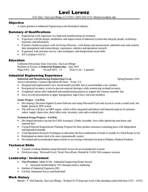 resume examples  electronics engineering students