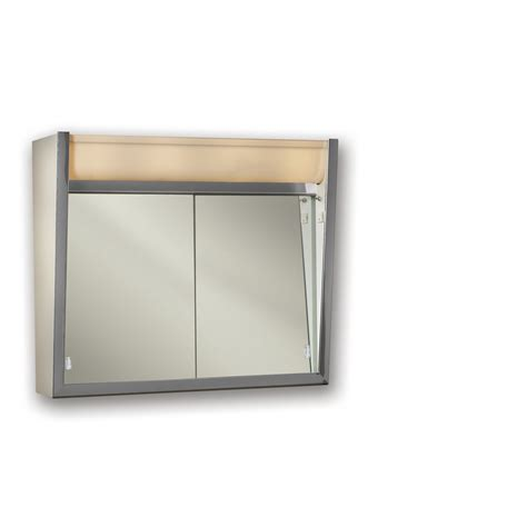 medicine cabinet with outlet shop broan ensign 24 in x 23 5 in rectangle surface