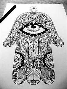 The gallery for --> Hamsa Hand Drawing