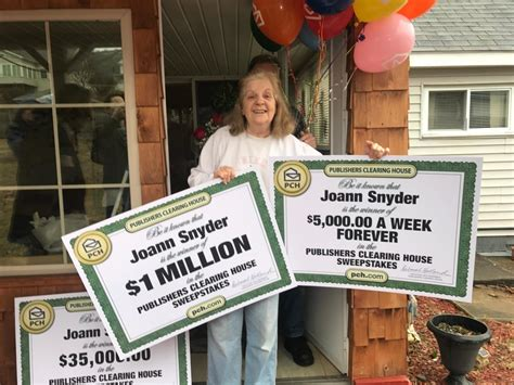 publishers clearing house winner today meet jo snyder our newest forever prize winner