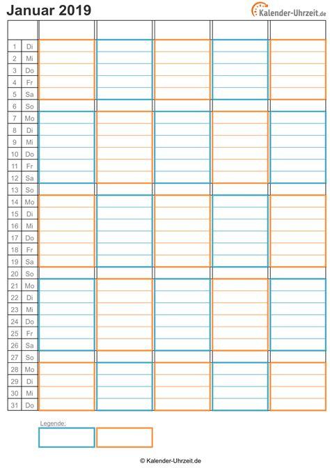 kalender  zum ausdrucken kostenlos