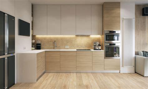 modern house design   wooden accent  pastel color