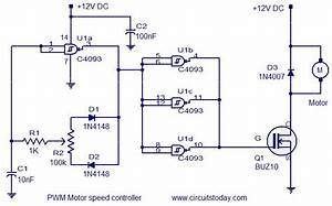 Pwm Motor Speed Controller