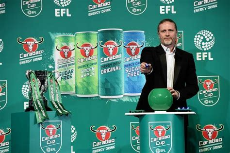 Carabao Cup draw numbers and regional section confirmed ...