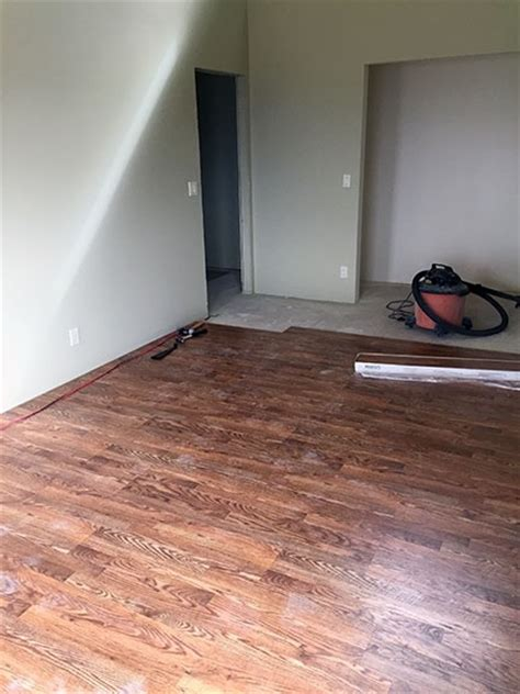 pergo flooring river road oak construction pergo installation time lapse an eclectic mind