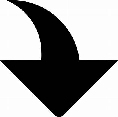 Arrow Icon Down Expand Save Svg Onlinewebfonts