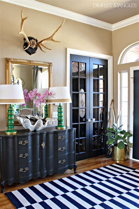 Entry Decor - 18 entryways with captivating mirrors