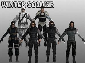 Winter Soldier Marvel Heroes XNALara by Xelandis on DeviantArt