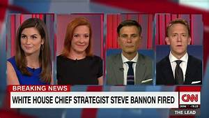 WH reporter: Bannon interview 'the final straw' - CNN Video
