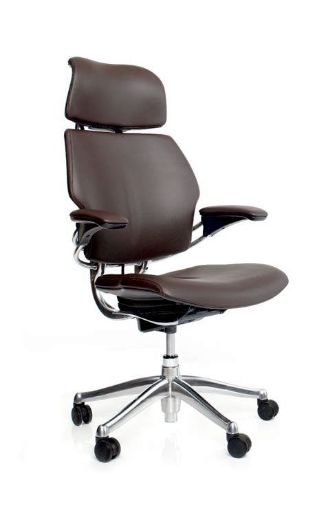 humanscale liberty chair freedom task chair with headrest ergonomic seating from
