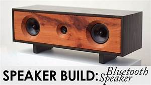 DIY Bluetooth Speaker Build BUILD PLANS Reclaimed