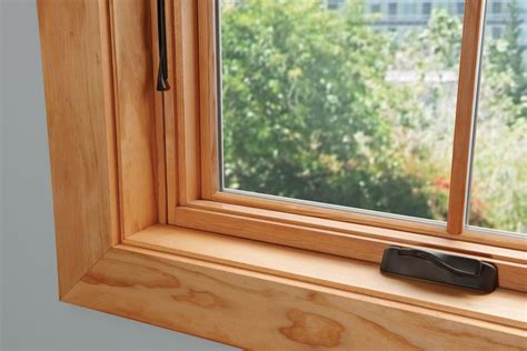 milgard essence natural pine awning forrest windows doors