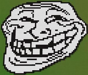 minecraft creeper face pixel art