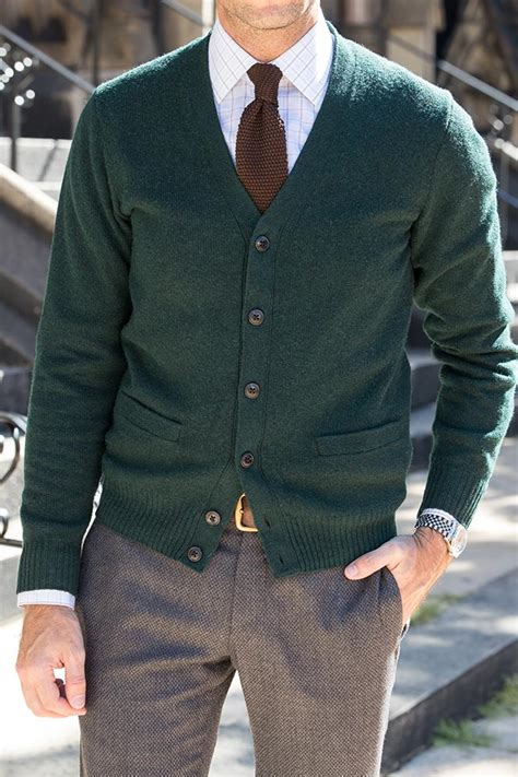 A Cardigan Is Your u0026quot;Substituteu0026quot; Business Casual Blazer - He Spoke Style