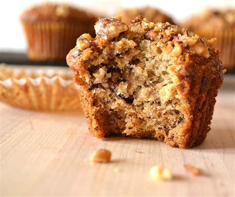 banana nut muffins crafty cooking mama