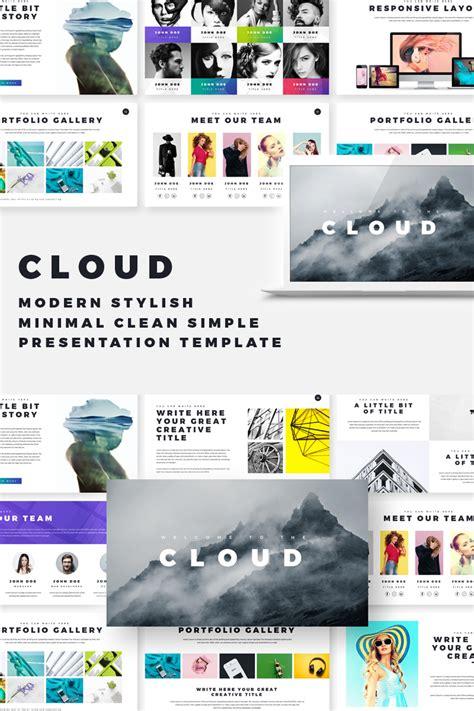 Cloud - Creative PowerPoint Template #69567