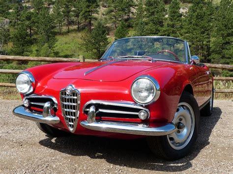 1960s Alfa Romeo by Forza Friday The Classic 1960 Alfa Romeo Giulietta