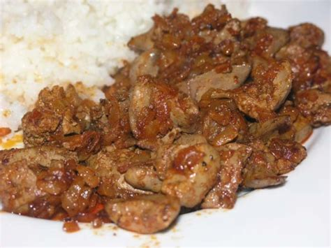 croatian simple chicken liver meal recipe genius kitchen