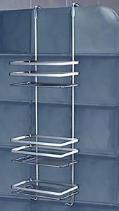 Badregal Ohne Bohren : duschy 3 etagen h ngeregal h nge duschablage duschkorb duschregal badregal regalsystem ohne ~ Watch28wear.com Haus und Dekorationen