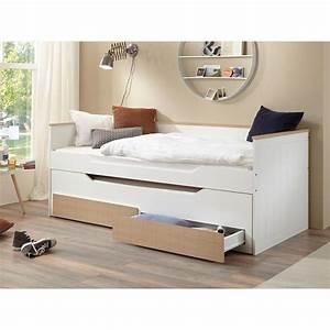 Roller Bett 90x200 : bett ronny 90x200 cm funktionsbett 2 liegefl chen bettkasten 2 schubladen bicolo 399 90 ~ Watch28wear.com Haus und Dekorationen