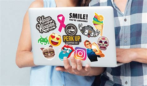custom window clings for business laptop stickers stickeryou products