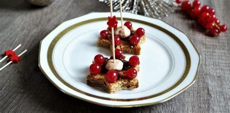 aperitif de noel canap駸 canapés de foie gras recette apéritive pour noël aux fourneaux
