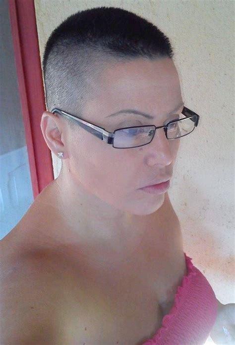 crewed short hair  glasses