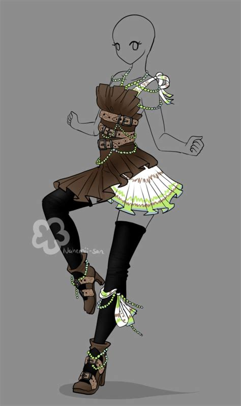 Outfit Design Auction - closed by Nahemii-san on DeviantArt