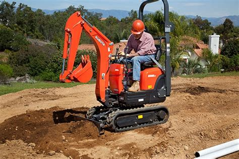 redtail rental kubota kt excavator rentals